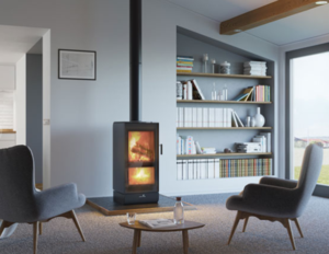 Take a look at the latest in gas fireplaces: the Jayline UL200 ULEB